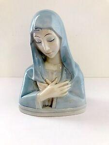 Lenci Art Deco Porcelain Madonna Ceramic Figure Ebay