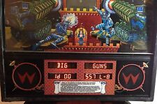 Flipper Pinball Williams - Data East  WDE-11610 Display Led per