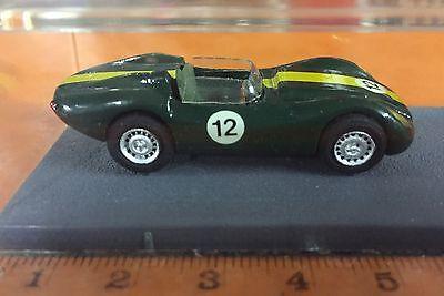 Jaguar Diecast Lister Le Mans 1958 PICCOLINO Racing Car Models Métal Blanc