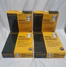 Zareba Wp22 Electric Fence Wood Post Ceramic Insulator 4 Packs 100 Pcs Withwashers