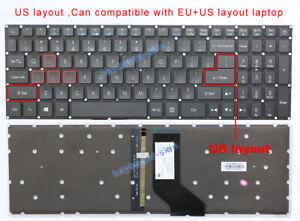 New UK English Keyboard for Acer Aspire V17 Nitro VN7-792G V15 VN7-572G BACKLIT