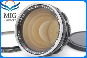 Near-MINT-NIKON-Nikkor-N-C-50mm-f-1-1-Nippon-Kogaku-Lens-S-Mount-482
