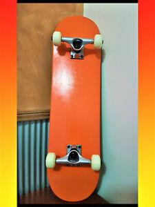 Skateboard-Complete-Beginner-Canadian-Maple-8-0-034-Titanium-Trucks-PSU-Whee