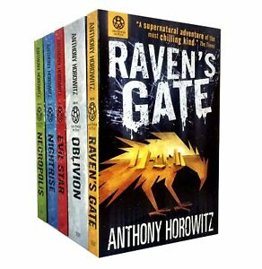 The-Power-of-Five-5-Books-Set-Anthony-Horowitz-Collection-Oblivion-Necropolis