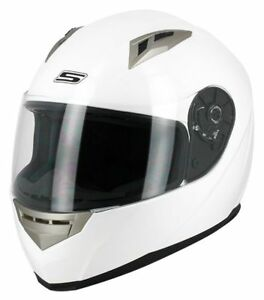 Casque-Moto-Scooter-S-Line-Integral-S448-APEX-Blanc