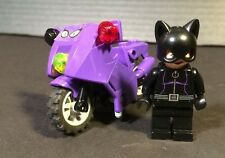 Lego Super Heroes DC Universe Mini figure Cat Woman Whip Motorcycle 6858