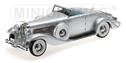 Minichamps 107150330 - DUESENBERG SJN  SUPERCHARGED  CONVERTIBLE COUPE 1936 1/18