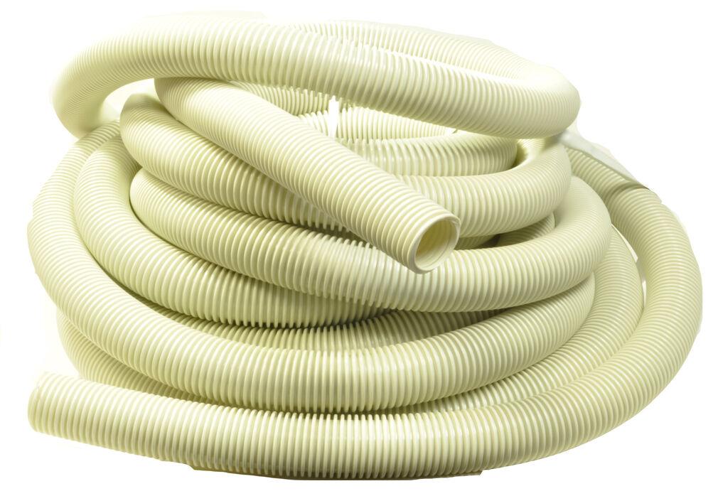 Generic White Vacuum Cleaner Hose 50' 1 1 4