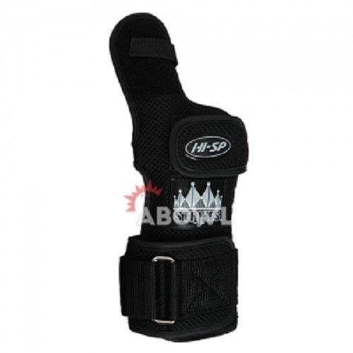 HI-SP STRIKE COBRA RIGHT BLACK Hand Bowling Wrist Support Accessories Sports/_ig
