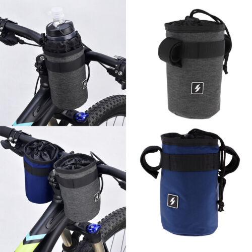 Insulation Bicycle Bottle Bag Bicycle Handlebar Front Tube Water Bottle Bag
