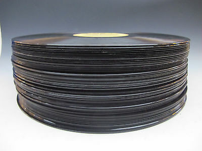 "Lot Of 50 - 12"" 33 1/3 RPM Vinyl Records - FOR DECORATION, ARTS, CRAFTS ..."