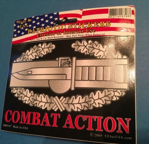 """Army CAB Combat Action Approximately 4"""" X 5"""" Sticker Decal Made In The USA"""