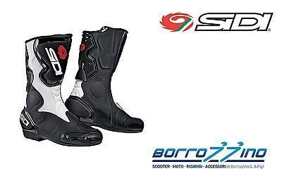 41 Bianco//Nero Sidi Fusion Lei Stivali da Moto
