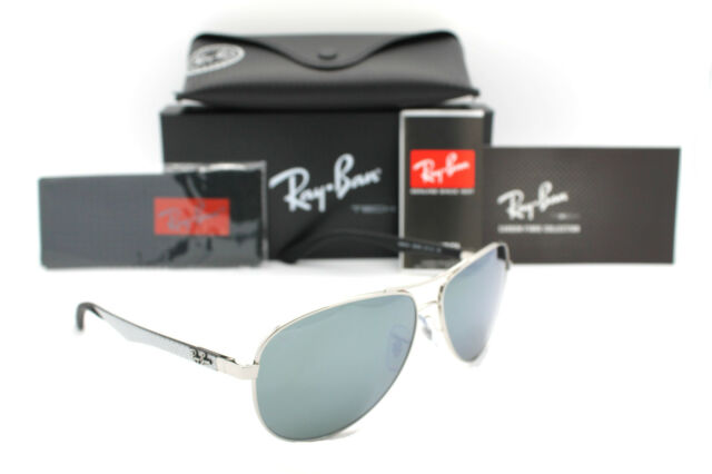 9c97bf59711 Ray Ban Rb8313 Aviator 003 40 Silver Frame Sunglasses 61 Mm for sale ...