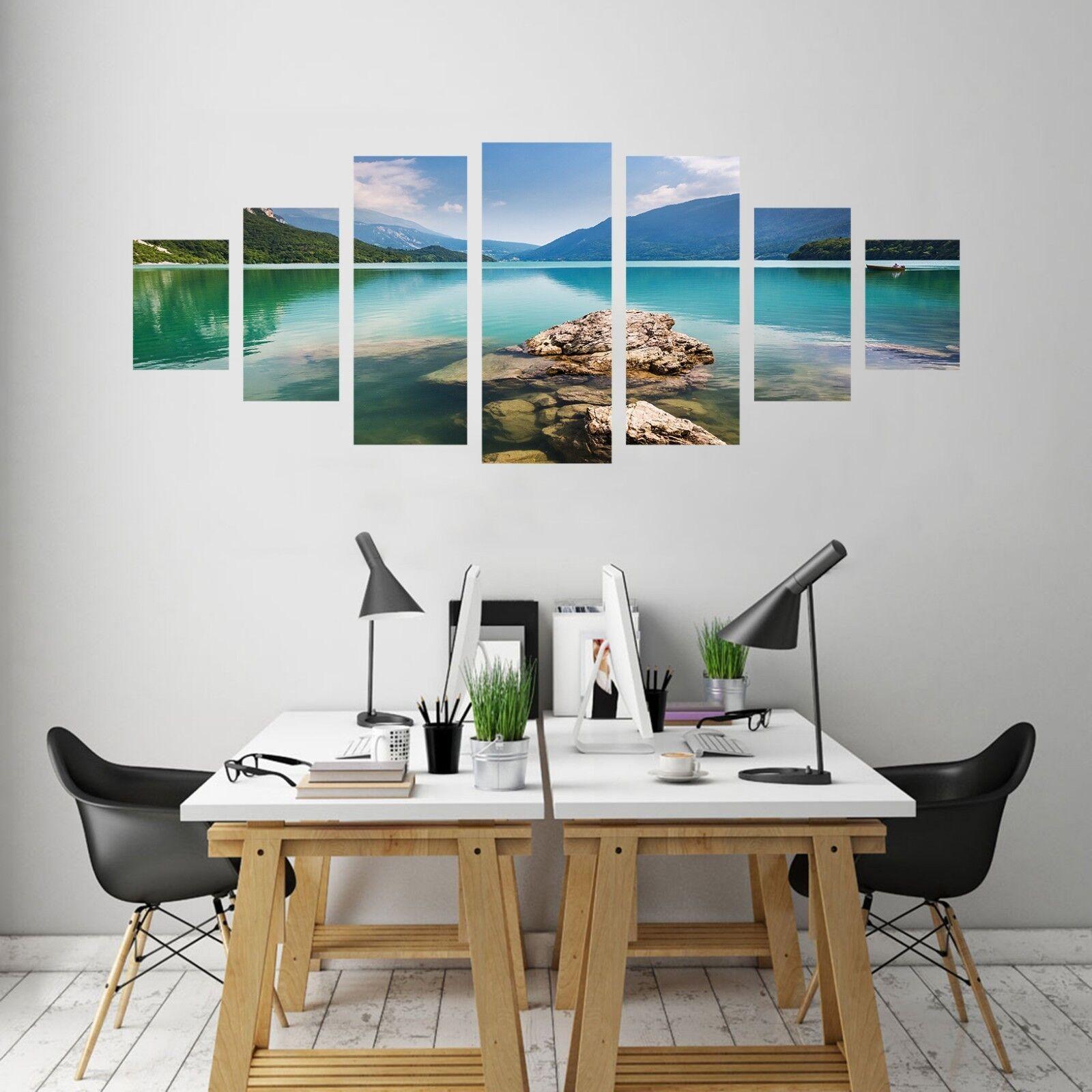 3D Lake Grün 791 Unframed Print Wall Paper Decal Wall Deco Indoor AJ Wall Jenny