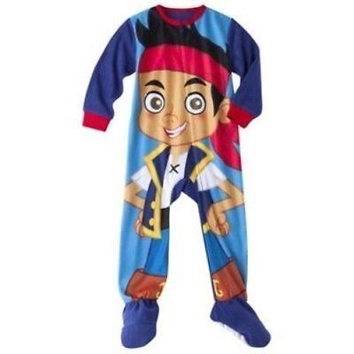 Disney Jake and Neverland Pirates Toddler Boys Blanket Sleeper Sizes 3T /& 5T NWT