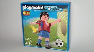 Playmobil-Sports-amp-Action-Ref-4730-Jugador-Futbol-Seleccion-Espanola-NUEVO