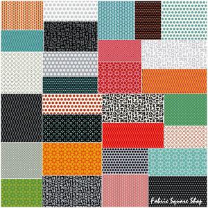 Windham-Uppercase-Precut-5-034-Charm-Pack-Fabric-Quilting-Squares-SQ64