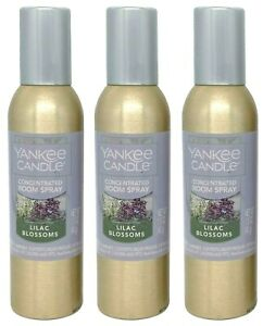 Yankee Candle Lilac Blossoms Concentrated Room Spray 1 5 Oz X3 Ebay