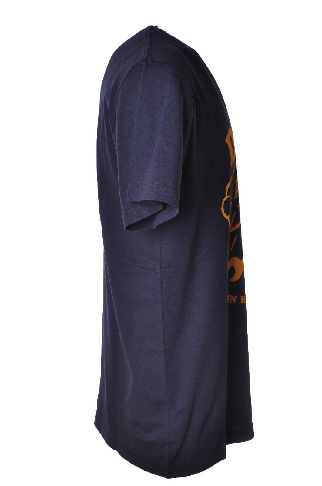 Deus - Topwear-T-shirts - - - Uomo - Blu - 4398402C184115 6c1cd0
