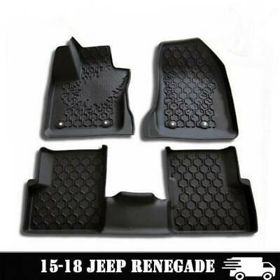 Rear Trunk Liftgate Tail Door Floor Mat Liner Carpet For Jeep Renegade 2015-2018