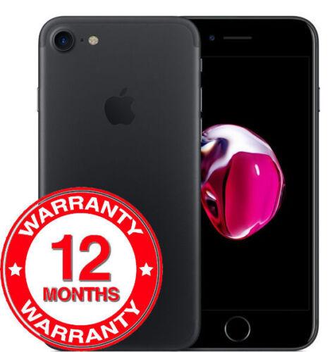 1 of 1 - Apple iPhone 7 - 128GB - Black (Unlocked) Smartphone UK
