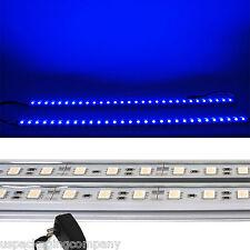 2x 20 inch LED Kitchen Under Cabinet Light Strips Strip Bars Kit Blue 120V