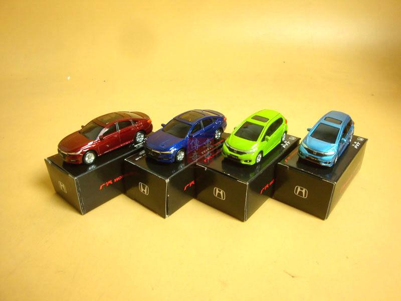 4pcs 1 64 Honda Accord sport turbo and Fit DIECAST  MODEL
