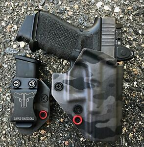 Details about Davis Tactical OWB Kydex Holster For Glock 19/19X/23/32/45