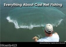 Everything About Cast Net Fishing (DVD) Learn the Basics of Using A Cast Net!