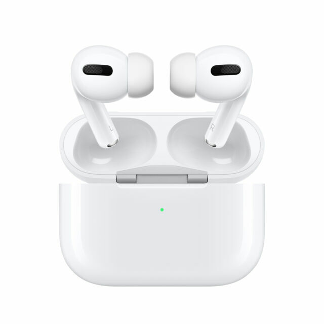 airpods pro white in ear headphones