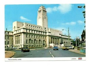 Yorkshire-Leeds-The-University-Postcard-Franked-1992