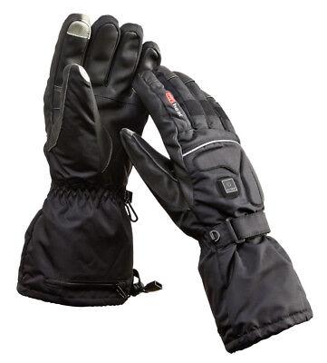 Beheizte Motorradhandschuhe Winterhandschuhe Schnee Outdoor Thermo Damen Herren