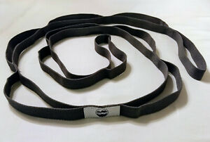 Great-Cove-Yoga-Stretching-Strap-for-Physical-Therapy-with-Grip-Loops-Gray