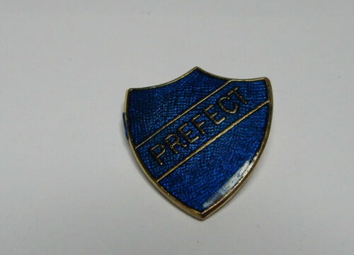 .1980 NOS blue School Prefect badge Birmingham made