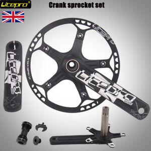 Litepro-Bike-130BCD-Sprocket-45-47-53-56-58t-170mm-Crankset-MTB-Road-Folding