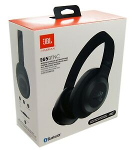 b5b6b848747 Image is loading JBL-Headphones-E65BTNCBLK-Bluetooth-Over-Ear-Black-Active-