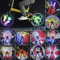 96 Rgb Leds High Quality Bicycle Spoke Light Color Changing Bike Wheel Light