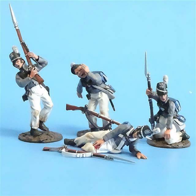 CORD-A0125 - Scotts Brigade Wounded (4 Pieces) - War of 1812 - John Jenkins