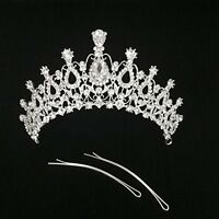 Princess Tiara Crown Comb For Sweet 16 Prom Quinceanera Party Special Occasion