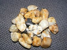5 x Cassiterite in Quartz Large Tumblestones 25mm-30mm A Grade Crystal Wholesale