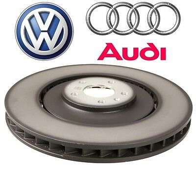 For Audi A8 Quattro S6 S7 S8 Front Left or RIght Disc Brake Rotor Genuine OES