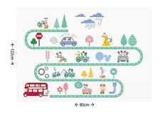 Disney Minnie Mouse Mickey Mouse Cars, Road Nursery Wall Sticker Nursery, child