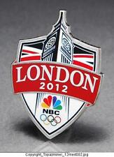 OLYMPIC PINS 2012 LONDON ENGLAND BIG BEN SPONSOR NBC MEDIA TELEVISION