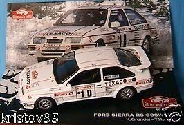 Ixo Ford Sierra RS Blanche 1987 1//43