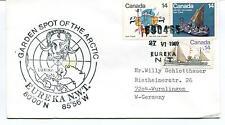 1980 Garden Spot of The Arctic EUREKA N.W.T. Polar Antarctic Cover SIGNED
