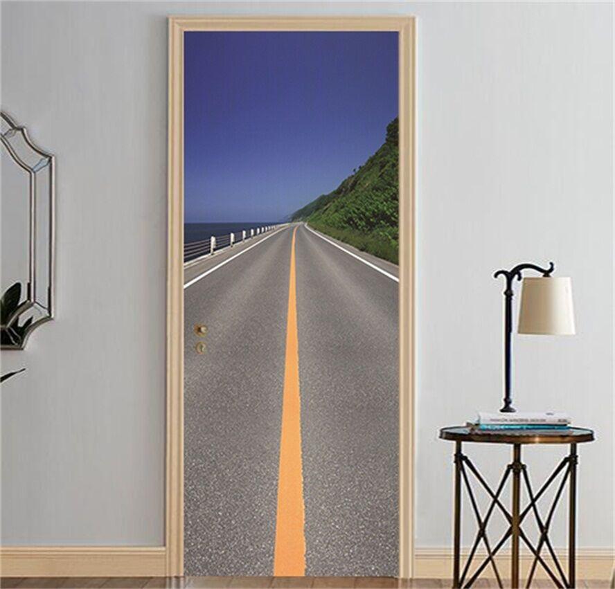 3D Autobahn 88 88 88 Tür Wandmalerei Wandaufkleber Aufkleber AJ WALLPAPER DE Kyra | Spielen Sie das Beste  | Reparieren  | Bevorzugtes Material  cd1782