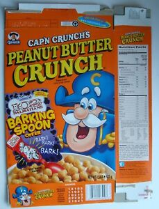 Christmas Crunch Cereal.Details About Quaker Oats Cap N Crunch S Christmas Crunch 102 Dalmations 2000 Cereal Box