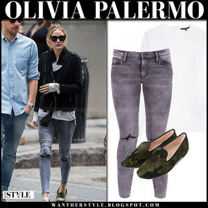 b86b0cd081 Image is loading Olivia-Palermo-x-Black-Orchid-Crop-Jeans-in-