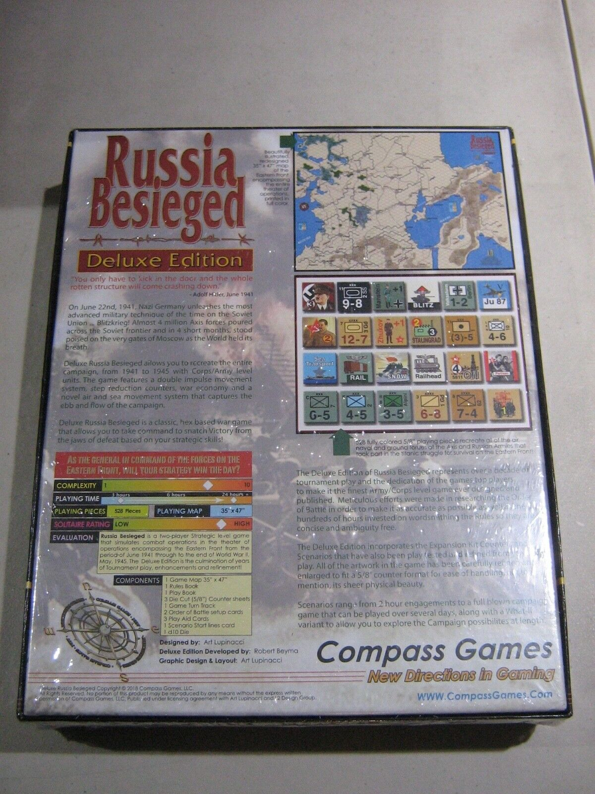Russia Besieged 1941-1945 Deluxe Edition Edition Edition (New) b7806c